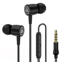 Wholesale noise black metal for sale - Group buy 3 mm In Ear Metal Earphones Noise Cancelling Earbuds Headphones With Microphone for Samsung S8 S9 S10