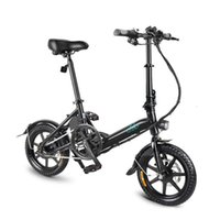 Wholesale 14 Inch Fiido D3 Mini Electric Scooter With Seat Wheels Electric Bicycle V W