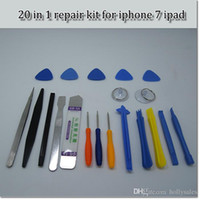 Wholesale cellphone tool kit for sale - Group buy 20 in Cellphone Opening Repair Tools Kit Magnetic Screwdrivers Set For iPhone Samsung Tablet Hand Tools hand repair kit