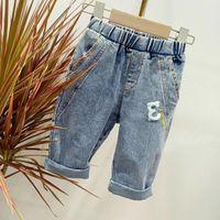 meninos jeans de inverno outono venda por atacado-Crianças Designer Roupas Roupas Boutique Outono Inverno Outono Baby Girl Girl Moda Jeans Vetement Enfant Oferta Especial