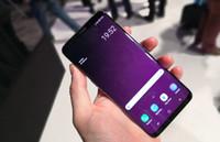 impresión de android al por mayor-HDC 9 plus 9+ borde del teléfono Huella digital Quad Core 4G LTE Mostrar MTK6580 4GB + 64GB 1280 * 1920 Píxeles 6.3 pulgadas QHD IPS Pantalla 13.0MP
