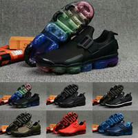 cojines rojos blancos negros al por mayor-2019 Utility Multi-Color Cushion Bind Zapatos de diseñador para hombre Negro Blanco Azul Rojo Verde Hombres Deportes Zapatillas de deporte para correr Zapatillas de deporte Tamaño 40-45