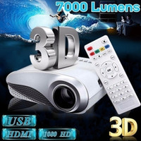 Wholesale tv cinema for sale - Group buy 2020 Future Mini Projector Home Cinema Lumens LCD Video USB VGA AV HDMI For TV Laptops