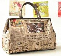 Wholesale vintage hobo tote bag resale online - New Hobo Bag Fashion Retro Women leather Tote Handbag Shoulder Bag purse Satchel Vintage Style