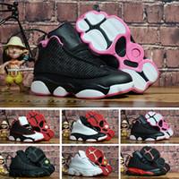 ce4e82045e0 Nike air jordan 13 retro Designer bébé 13 enfants chaussures de basket-ball  de jeunes enfants athlétique 13s chaussures de sport pour garçon filles ...