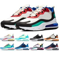 sapatos mais quentes venda por atacado-2019 Hot New nike Air Max 270 React Men Running Shoes Sports Shoes Outdoor Mens Trainer Breathable Sports New Model High Quality Sneakers