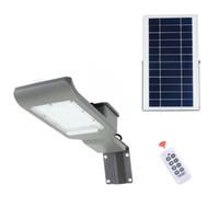 lampadaires achat en gros de-Lampes solaires à LED, projecteur de sécurité extérieur, lampadaire solaire, IP66 étanche, auto-induction, lumière d'inondation solaire pour la pelouse, jardin