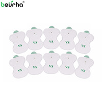 Wholesale tens machines for sale - Group buy Beurha Electrode Pads for Digital TENS Therapy Machine Electronic Cervical Vertebra Physiotherapy Massager Pad Medium