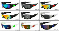 Wholesale bicycle glasses lens resale online - 2016 brand NEW FASHION oilrig sunglass man Sports Eyewear women s Eye colors driving Bicycle Glass Travel glasses A