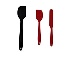 Silicone spatula tableware barbecue brush non-stick high temperature resistant kitchen supplies safety nougat cake cream spatula baking tool