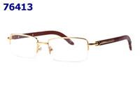 lunettes à demi œil achat en gros de-Nouveau rétro mode demi-métal monture lunettes pour hommes et femmes lunettes optiques monture en bois sculpté lunettes