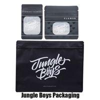 pequeños paquetes de pegatinas al por mayor-Jungle Boys Ziploke Bolsa de embalaje Tamaño Pequeño Mediano Grande Media libra Cremallera Paquete de prueba Bolsas para flores de hierbas secas con sabores pegatina