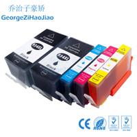 cartouches hp officejet achat en gros de-5pcs 934XL Compatible pour cartouche d'encre HP 934 934XL pour HP OfficeJet Pro 6230 6830 6820 Imprimante pour hp934