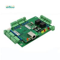 portas biométricas venda por atacado-20000 Usuários TCP / IP 2 Portas Biométrico E Painel de Controle de Acesso Do Cartão RFID Wiegand Profissional Sistema de Controle de Acesso Da Porta WG002