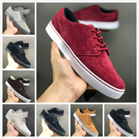 Wholesale street dancing shoes for sale - Group buy HOT SALE Mens Sb Blazer Zoom Mid Qs Street Dance Shoes Mens designer wine red green black grey Skate Shoes Mens Sports Sneakers