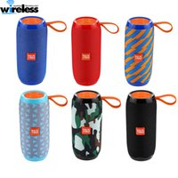 Wholesale Outdoor wireless Speakers TG106 Bluetooth Speaker Portable Wireless Speaker mAh Support Answer the Phone With Retail Package