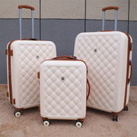 Wholesale travel rolling luggage for sale - Group buy Vintage Travel Suitcase quot Women Trolley Case Rolling Luggage luxury brands inch Men PC Commercial Box with wheels travel bag