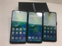 quad core telefon lager großhandel-Android 6.0 Zoll Goophone Mate 20 Pro Quad Core 1280 * 720 8MP 1 GB RAM 4 GB ROM Smartphone Fake Show 4 + 128G auf Lager