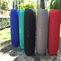ferngesteuerte lautsprecher großhandel-2018 heißer verkauf charg e3 bluetooth lautsprecher tragbare drahtlose lautsprecher im freien wasserdichte subwoofer stereo power 1200 mah batterie auf lager