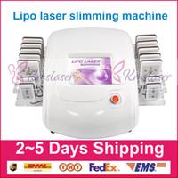 diodo laser redução de gordura venda por atacado-Remoção ardente gorda da redução da fatura da remoção das celulites do emagrecimento da máquina da beleza da lipólise do laser Lipo modelação do corpo da perda de peso do laser do diodo 980nm de 650nm