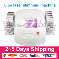 yağ azaltma zayıflama makinesi toptan satış-Yeni Lazer Lipo Lipoliz Güzellik Makinesi Zayıflama Selülit Kaldırma Yağ Yakma Azaltma 650nm 980nm Diyot Lazer Kilo Kaybı Vücut Şekillendirme