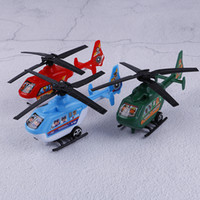 Wholesale plastic airplane propellers for sale - Group buy 2PC Pull Back Helicopter Toys Plane Model Small Rotating Propeller Airplane Ornaments Birthday Gifts Kids Playing Games Toys