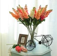 ingrosso fiori artificiali diretti-pianta artificiale di simulazione fiore viola decorazione festiva decorazione domestica fabbrica di fiori forniture per matrimoni diretti all'ingrosso all'ingrosso Fiori