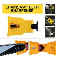 serra de corrente nova venda por atacado-2019 novos dentes Chainsaw Sharpener Sharpens Chainsaw serra Cadeia afiação de ferramentas Sistema abrasivo Ferramentas Motoserra vendas cômoda transfronteiriços