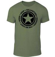 coche de color del ejército al por mayor-Camiseta unisex Willys Army Offroad v8 US Car ChevyUnisexDodge Oldschool