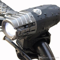 gece yolculuğu bisiklet ışığı toptan satış-Emniyet Gece Binme Bisiklet Işık USB Şarj Uyarı Vurgu Taillight Suit Dağ Bisikleti Lambası 300 Lümen Farlar 40ry bb