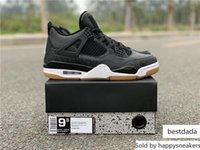Wholesale boys shoes lights resale online - High Air Authentic SE Laser Black Gum Light Brown Retro Basketball Shoes Men Women Sports M CI1184 With Original Box US