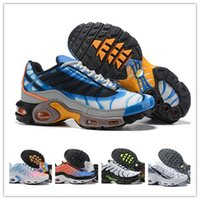 Wholesale black shoe resale online - Original Tn Mercurial Designer Sneakers Chaussures Homme TN Basketball Shoes Men Womens Zapatillas Mujer Mercurial TN Running Shoes