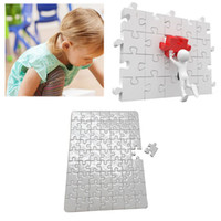 Wholesale material paper for sale - Group buy Heat transfer printing puzzle papers A4 size blank Jigsaw puzzle paper for children DIY Thermal Transfer Pearlescent vinyl material