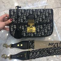Wholesale 24 card wallet resale online - Hot fashion classic women s designer handbags printed chain bag leather card Messenger bag wallet shoulder Messenger bag size