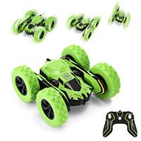 rc servo torque al por mayor-Niño de coches de juguete de control remoto Ruedas Rotatorio armas de juguete modelo de coche de regalo puerta abierta conjunto robot eléctrico
