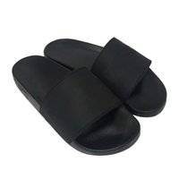 Wholesale booties sandal shoes resale online - Original Logo Women and Men Couple Slippers Slide Sandals Shoes Rubber slide sandal Beach causal slipper Summer Flip Flops Fashion Slippers