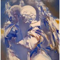 kundenspezifische handmalerei großhandel-Benutzerdefinierte Ölgemälde Foto auf Leinwand drehen Sie Ihr Bild auf handgemalte Gemälde personalisierte Kunstwerke Wanddekor besonderes Geschenk