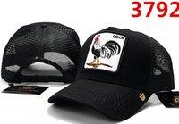 siyah erkek horoz toptan satış-Cock Kavisli Kap Pamuk ünlü Marka Kap Simgesi Nakış Şapka Erkekler Için Kap 6 Panel Siyah Beyzbol Şapka Snapback Erkek Kadın için Caps