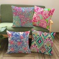 escritório de sofá venda por atacado-9 Estilos 45 * 45 cm Starfish Pillow Covers Capa de Almofada Geométrica Fronha Capa de Almofada Home Office Sofá Decoração Do Carro CCA11582 30 pcs