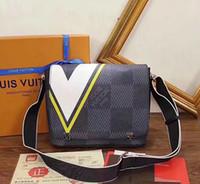 ingrosso borse promozionali regalo-I regali promozionali del raccoglitore del sacchetto del telefono cellulare del sacchetto del messaggero degli uomini di alta qualità della borsa a tracolla degli uomini di spalla degli uomini di modo liberano il trasporto