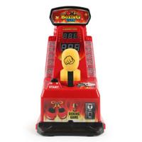 настольная игра машина оптовых-Zhenwe Boxing Machine Fighting Stretch Machine Игрушка для бокса Finger Box Мини Настольная игрушка Finger Force для мальчиков Игры для детей