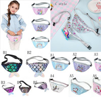 Wholesale card sling for sale - Group buy Multi Design HOT Mermaid Tail Sequins Coin Purse Zipper kids coin bag sling money card fashionable Mermaid Waist purse
