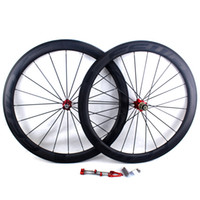 Wholesale ffwd rims resale online - carbon fiber bike road wheels mm FFWD F5R BOB basalt brake surface clincher tubular road bicycle racing wheelset rim width mm UD matt