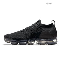 wholesale air sports shoes venda por atacado-nike air Vapormax max Off white Flyknit Utility plus Mens Running Shoes Homens Sneakers Moda Feminina Atlético Branco Choque Corss Andando Sapatos Ao Ar Livre