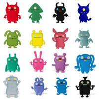 Wholesale ring pendant children resale online - UglyDolls Plush Toys keychain cartoon MOXY OX UGLYDOG BABO Stuffed Animals key ring Children Pendant Birthday Gifts cm inches C6500