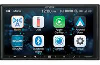 áudio do carro subwoofers bluetooth venda por atacado-carro.Alpine iLX-W650 Receptor de Mídia de Áudio Digital com Apple CarPlay Android Auto