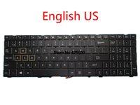 teclado mp al por mayor-Teclado portátil para ThundeRobot 911 Para TARGA T6A T6B T6C 0KN1-0H2US22 MP-13H83USJ5284 US 0KN1-0H4UK12 MP-13H86GBJ5282 UK