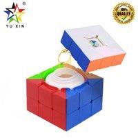 caja de dinero mágica al por mayor-2019 YUXIN Magic Cube 3x3x3 Love Box Colección Dinero Sugar Puzzle Cube Educativo Fidget Juguetes Para Niños Niños Magic Box