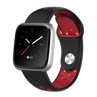 Wholesale smallest smart watch online – Watchband for Fitbit Versa Strap Soft Silicone Replacement Wristband for Fitbit Versa Versa Lite Bracelet Large Small