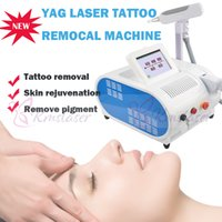 бесплатное спа-оборудование оптовых-EU tax free Tattoo removal machine YAG laser ND Q переключил лазерную машину красоты 1064nm 532nm пятна удаление веснушек Pro spa salon equipment
